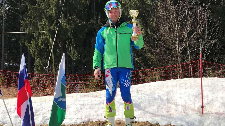 Domen Poljanšek najhitrejši na občinskem prvenstvu 2019